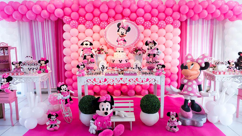Minnie Rosa Festa E Cia
