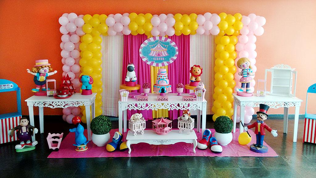 Circo Baby Rosa | FESTA E CIA